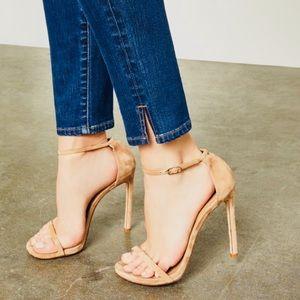 BCBGMAXAZRIA Womens High Rise Split Hem Jeans 25